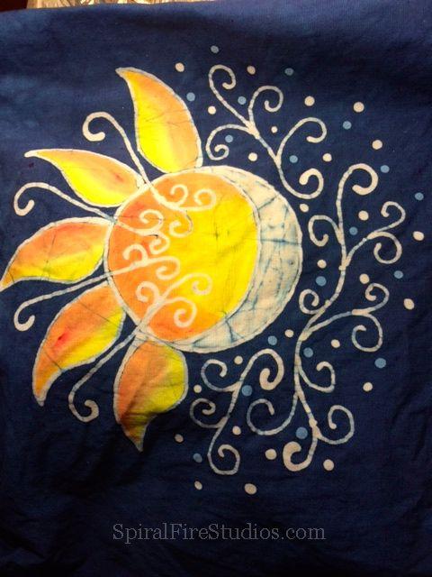 2b829cc6a76 Sun and moon Batik design