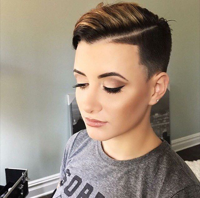 60 Shaved Hairstyles For Women | Short shaved hairstyles ...