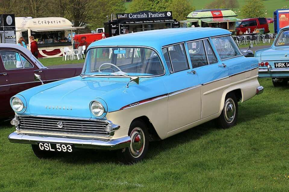 Old British estate cars. Vauxhall Victor FA Estate. | Wagons 4All ...