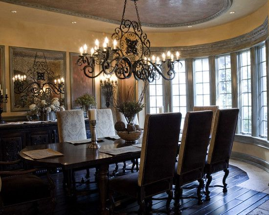 Mediterranean Dining Room Design Pictures Remodel Decor And Ideas
