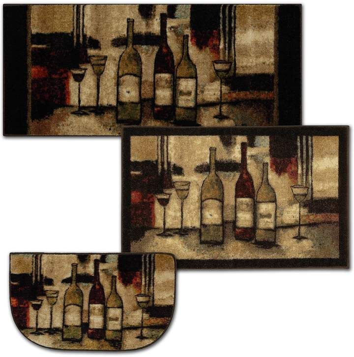 Mohawk Home Wine Glasses Kitchen Rug Mohawk Home Wine Decor Kitchen Indoor Rugs