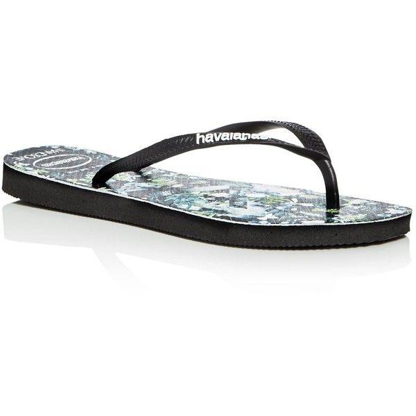 04e5f842840 havaianas Slim Women s We Are Handsome Collection Slim Flip-Flops (£28) ❤