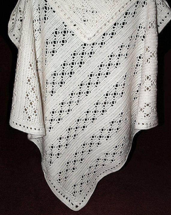 CROCHET Pattern - Baby Blanket Pattern -Royal - Baby Crochet Afghan ...