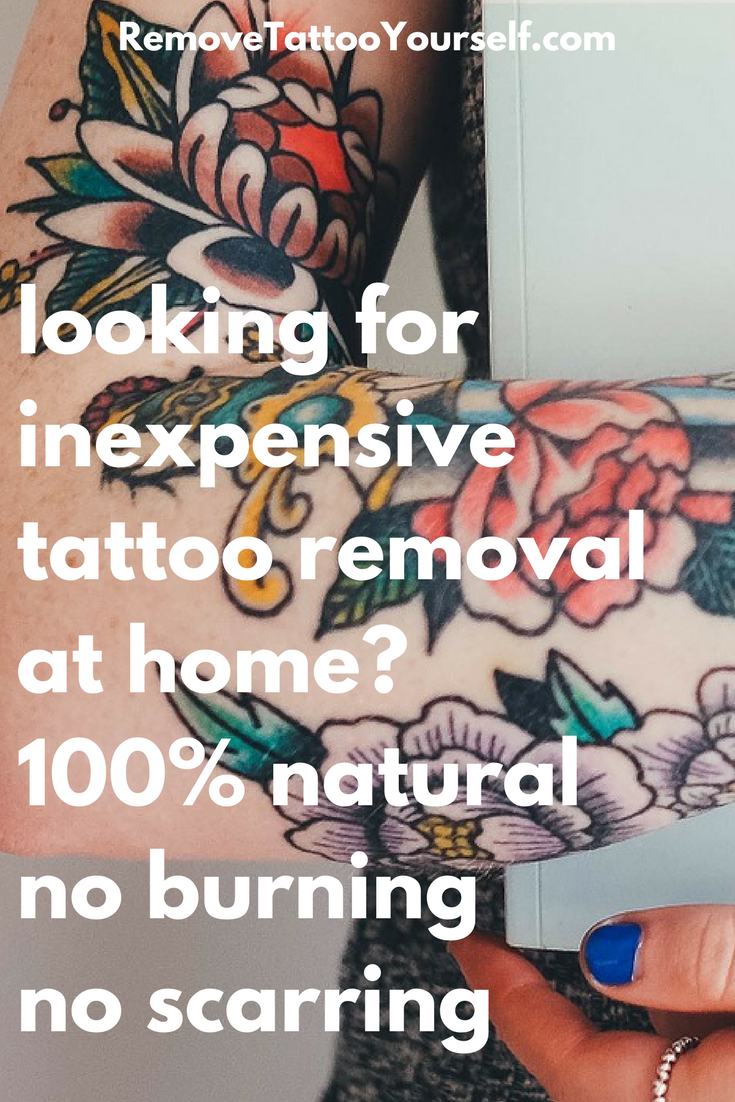 Most people think inexpensive pain-free tattoo removal at home is ...