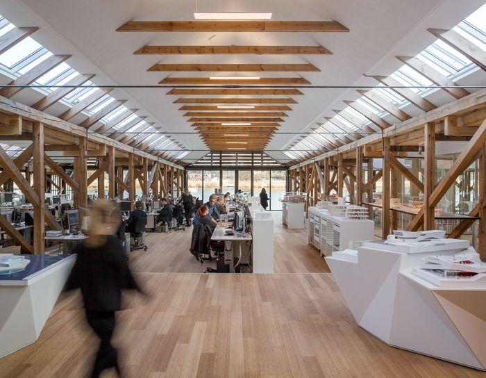 3xn office design 4 3XN Architects Copenhagen Offices