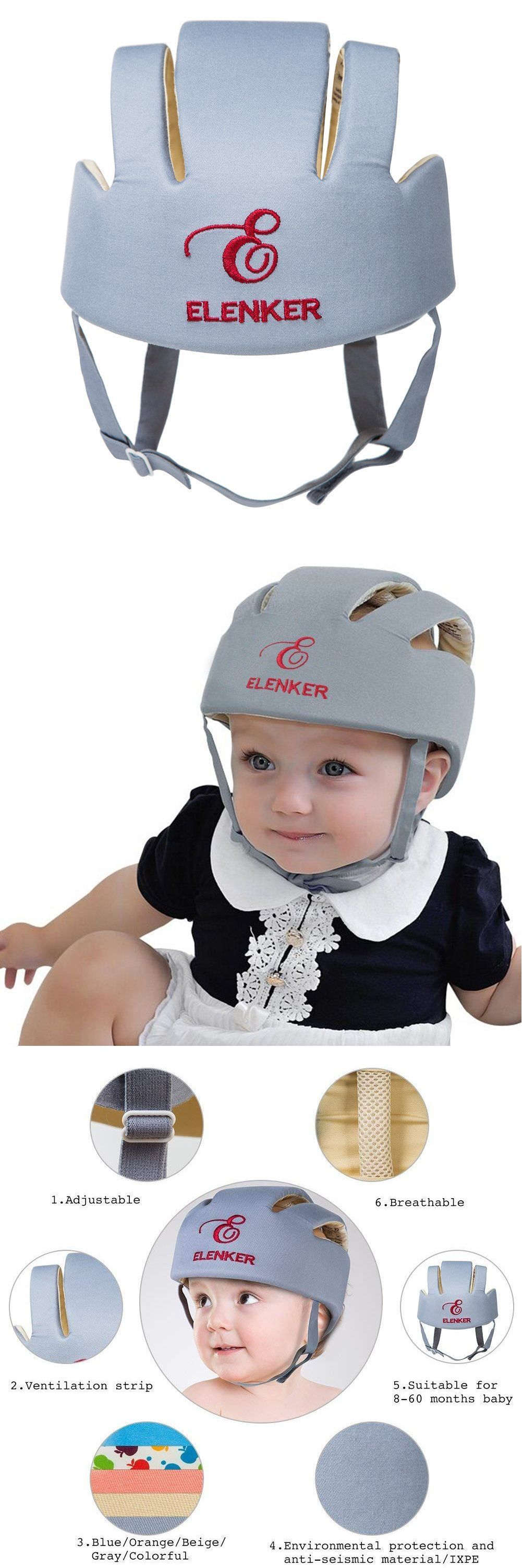 bf3393e287e Other Baby Safety and Health 20436  Baby Adjustable Safety Helmet Children  Headguard Infant Protective Cap Grey -  BUY IT NOW ONLY   14.99 on  eBay   other ...