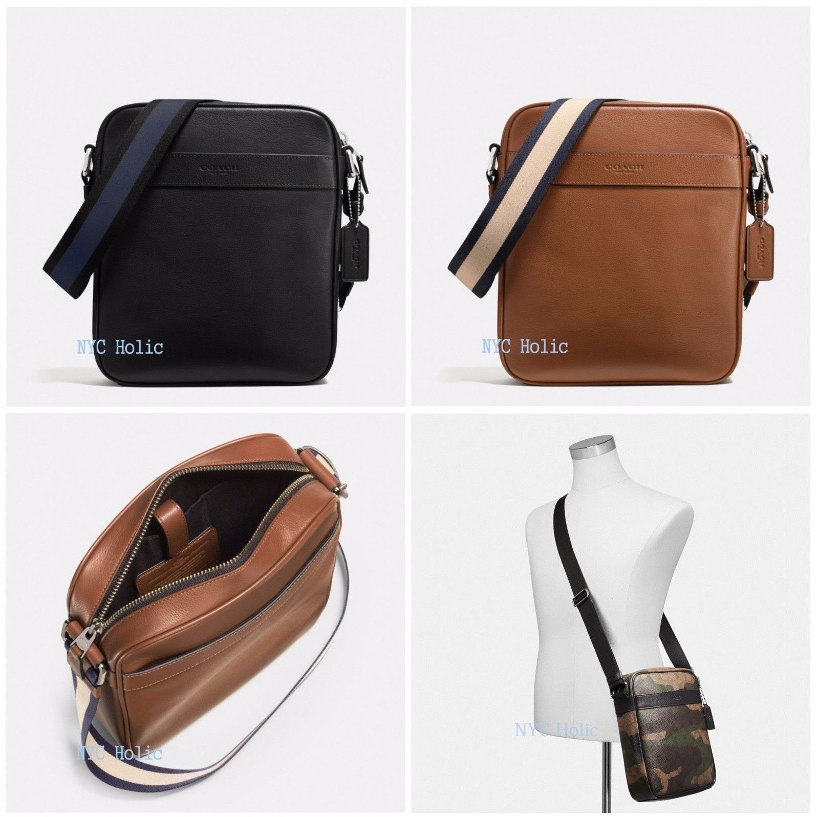 Backpacks Bags and Briefcases 52357: New Coach F54782 F59913 Mens ...