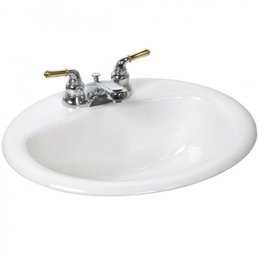 """Crane 20"""" x 17"""" Atlanta Drop In Bathroom Sink - 1280H ..."""