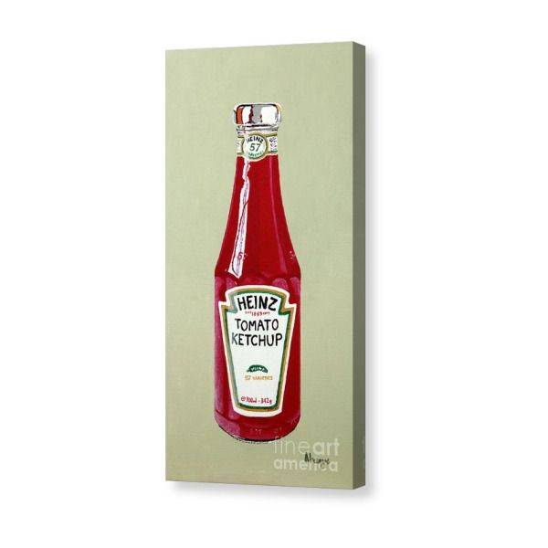 Heinz Ketchup Canvas Print In 2019 Products Canvas Prints