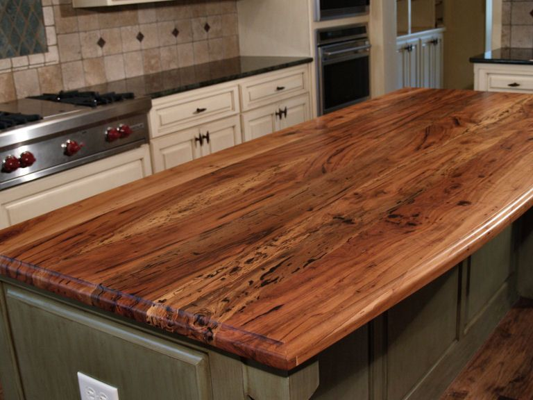 Spalted Pecan Custom Wood Countertops Butcher Block Countertops Kitchen Island Counter Tops Wood Countertops Kitchen Renovation Rustic Kitchen Design