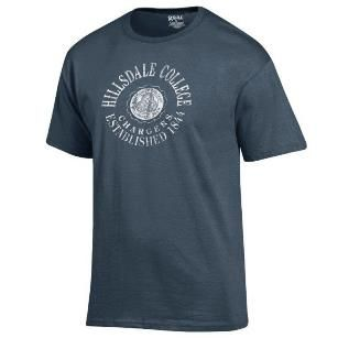 T-SHIRT - BLUE WITH SEAL