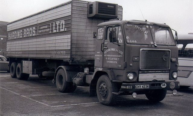 Volvo F88 Harding Bros Avonmouth Bristol Volvo Vrachtwagens Vliegtuigmotor