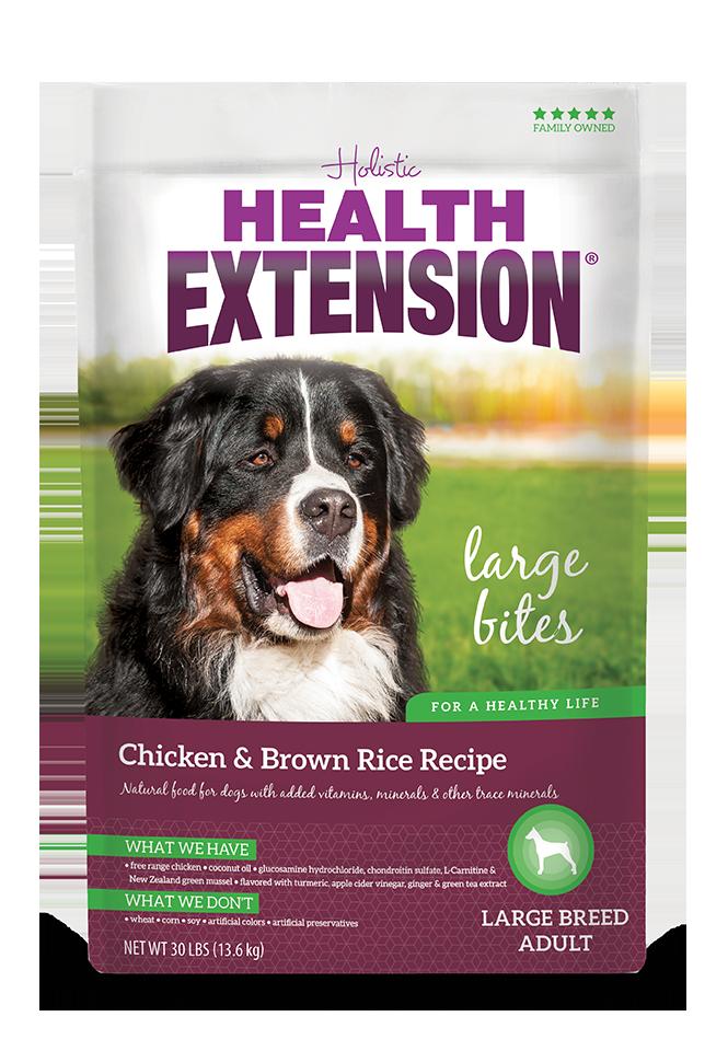 Chicken Brown Rice Large Bites Dog Food Chicken Brown Rice Dog Food Recipes Best Cat Food