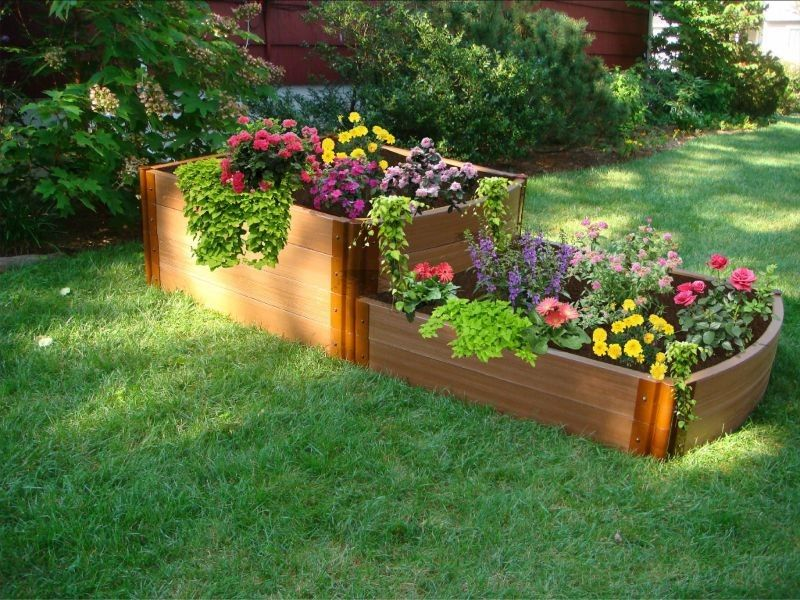 Raised Bed Garden Design Ideas raised bed garden designs Image Detail For Raised Garden Bed Kits For Raised Bed Gardening And Vegetable Gardening Ideas Pinterest Garden Beds Raised Garden Beds And