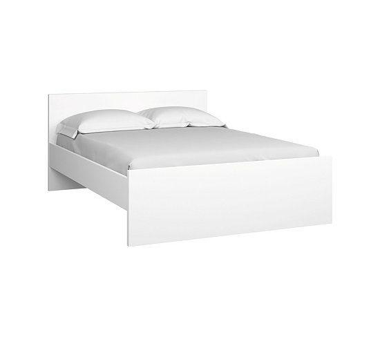Lit 140X190 Cm Best Lak Blanc Laqué   Suite Master, Parental Et