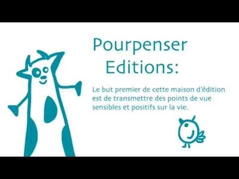 Pourpenser éditions - Livres enfant jeunesse philosophique. http://www.pourpenser.fr