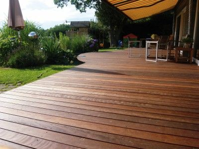 Auch für die Kleinsten in der Familie sind Holzterrassen bzw - terrassenbelage holz terrassendielen