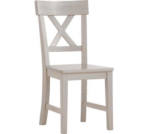STUHL Kiefer Weiß - küchenstuhl weiß holz