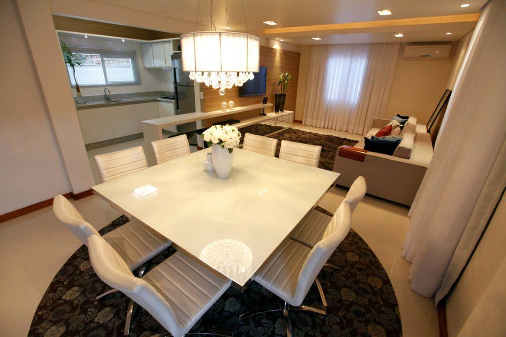 Fotos de salas de jantar modernas casa as joinville sc - Estudio de interiores ...