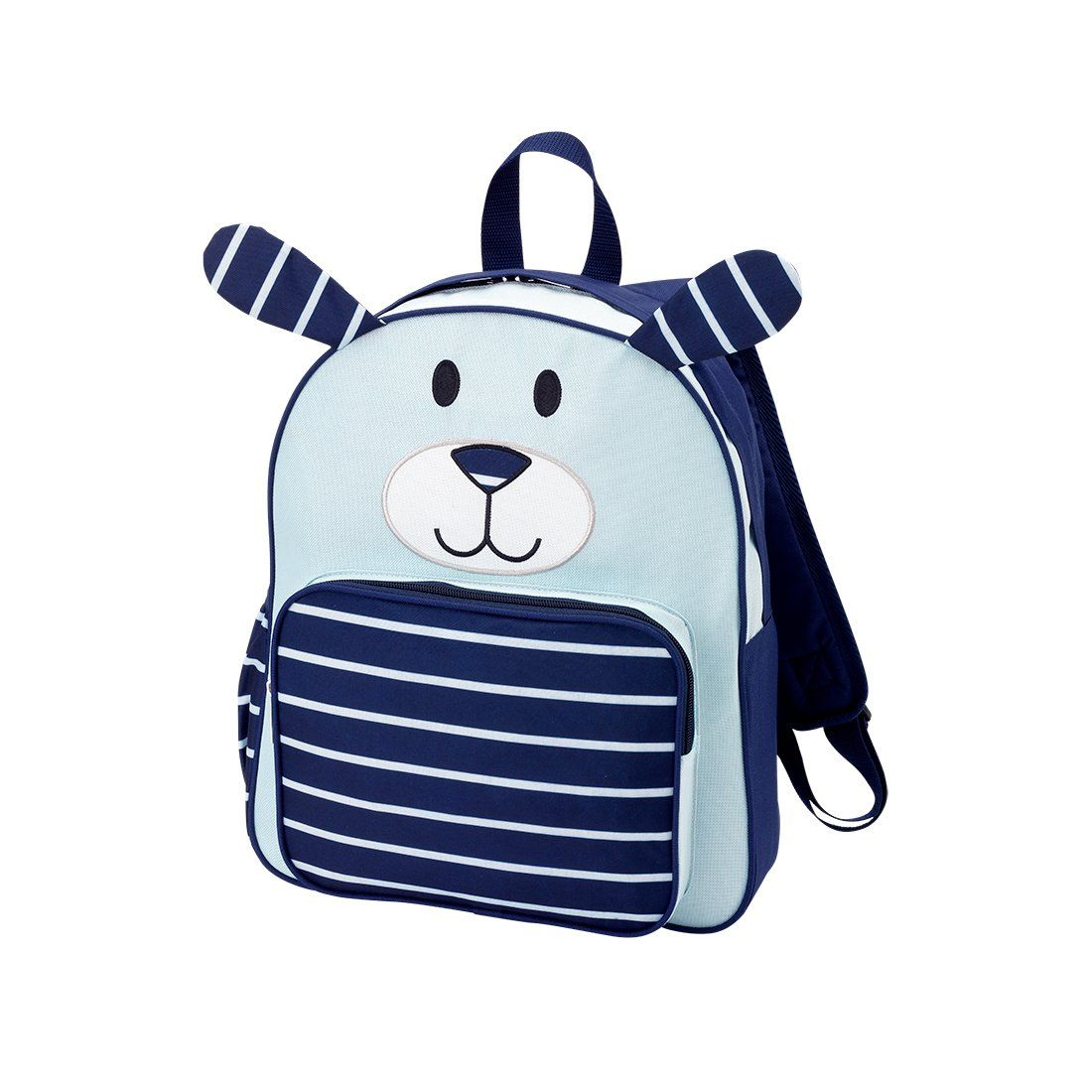 Navy Puppy Preschool Backpack - Personalized   New Items in