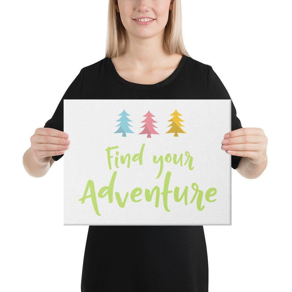 Find Your Adventure Canvas