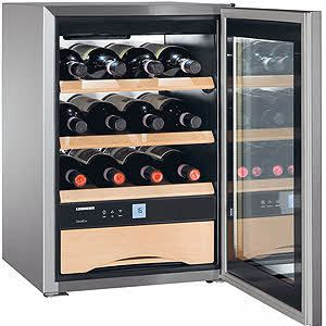 Liebherr 17 Wine Refrigerator Holds Approximately 17 Bottles Of Wine And It Can Be Built In To Wine Storage Cabinets Beer And Wine Refrigerators Wine Cabinets