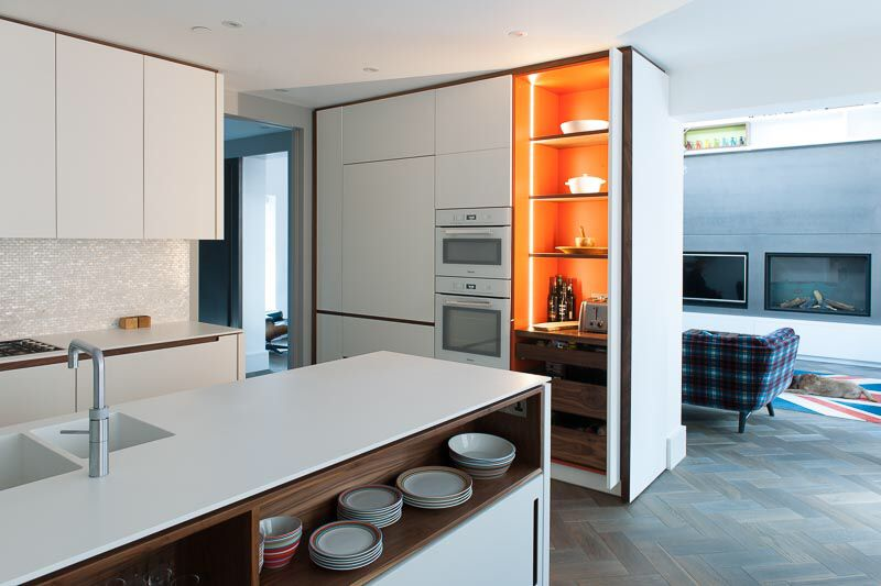 Retracting Doors In Kitchen Done By Dominic Ask Ltd Interior Ideas My Dream Home