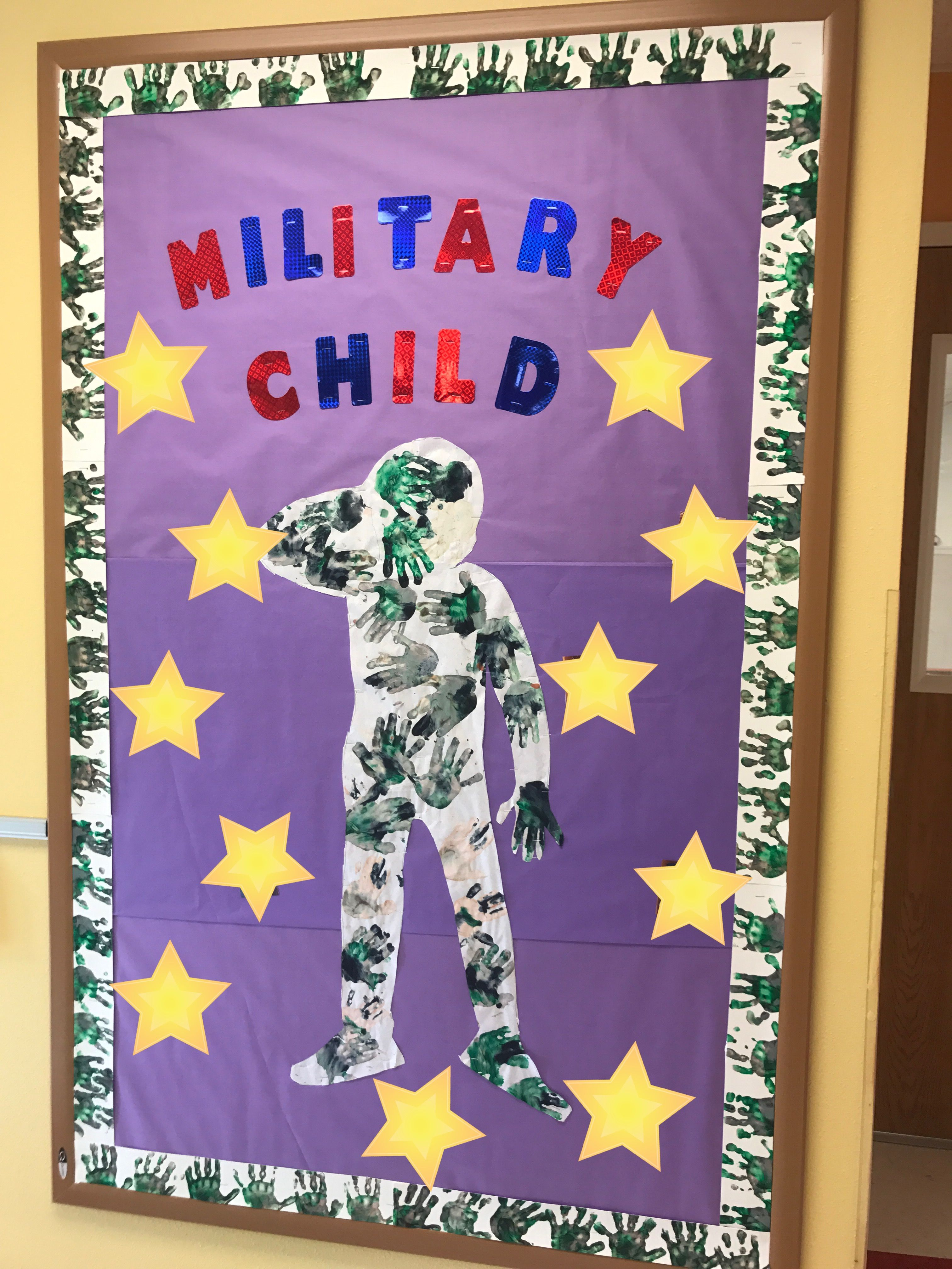 Month Of Military Child Board Children' Covered Stars