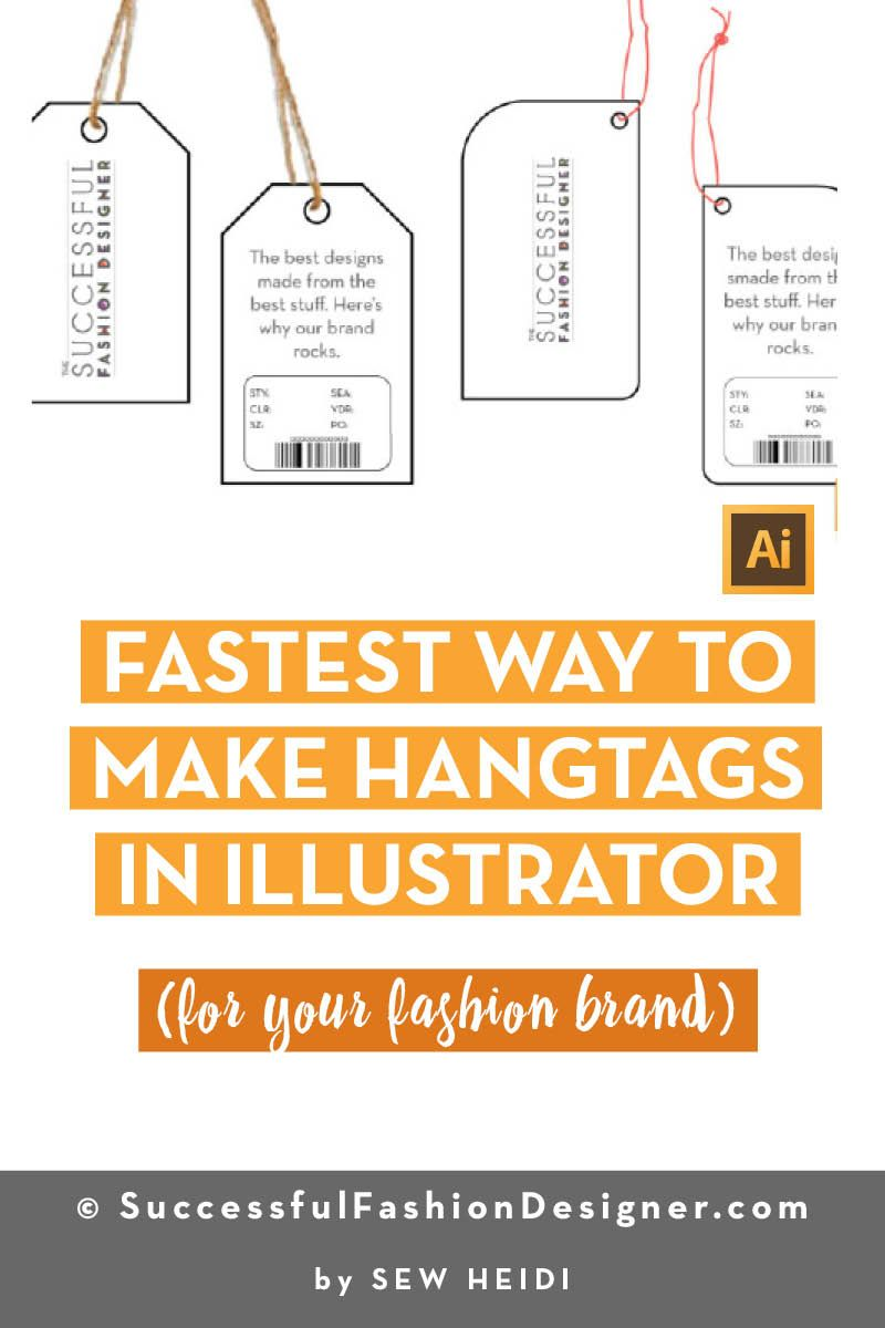How To Make A Hangtag In Illustrator And Photoshop Photoshop