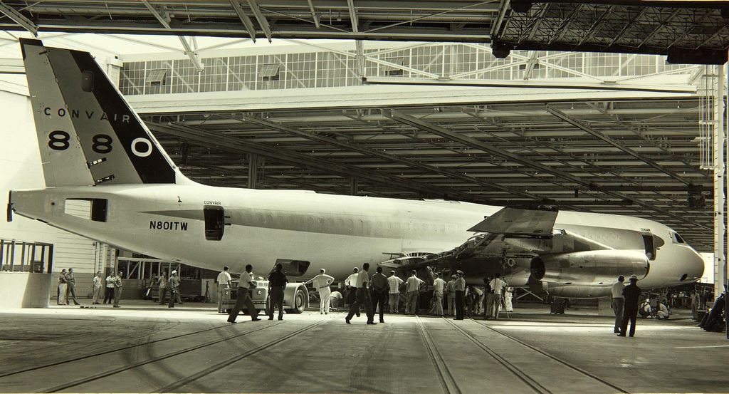 Convair , 880 Commercial vehicle, Air and space museum