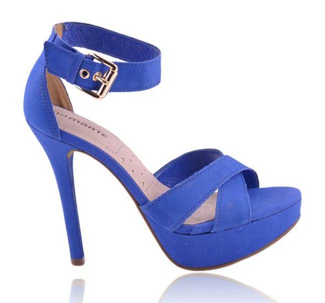 Sandália Via Marte azul