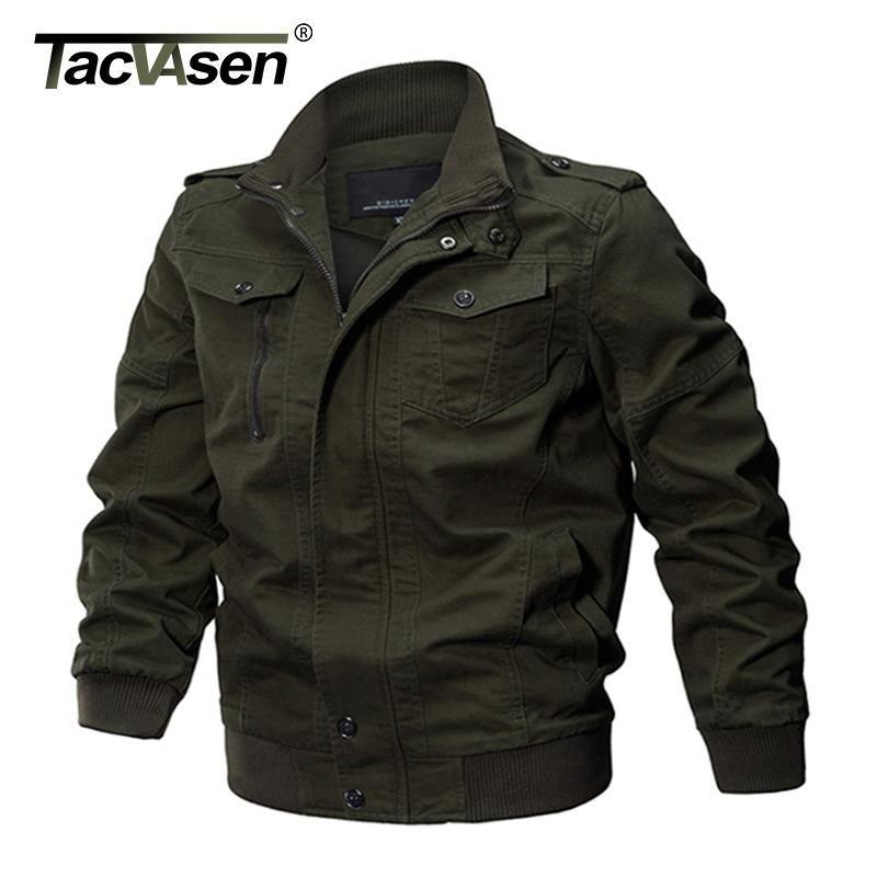 Men Large Size Warm Cotton Coat Parka Jacket with Cap
