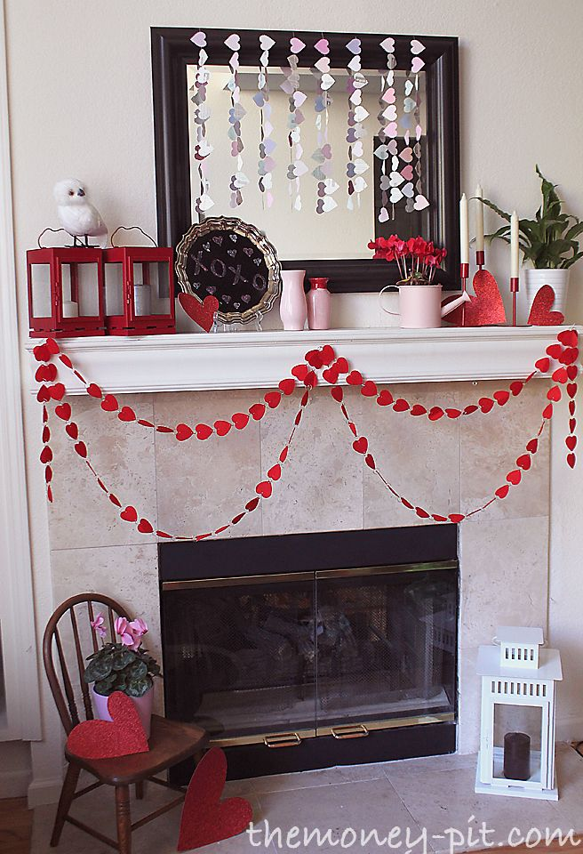 34+ Fireplace decorations for valentines day inspirations
