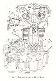15+ Motorcycle Engine Diagram Engineering Drawings