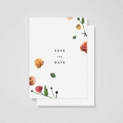 Photo of Hochzeitseinladungen minimalistisches Layout 49+ Ideen