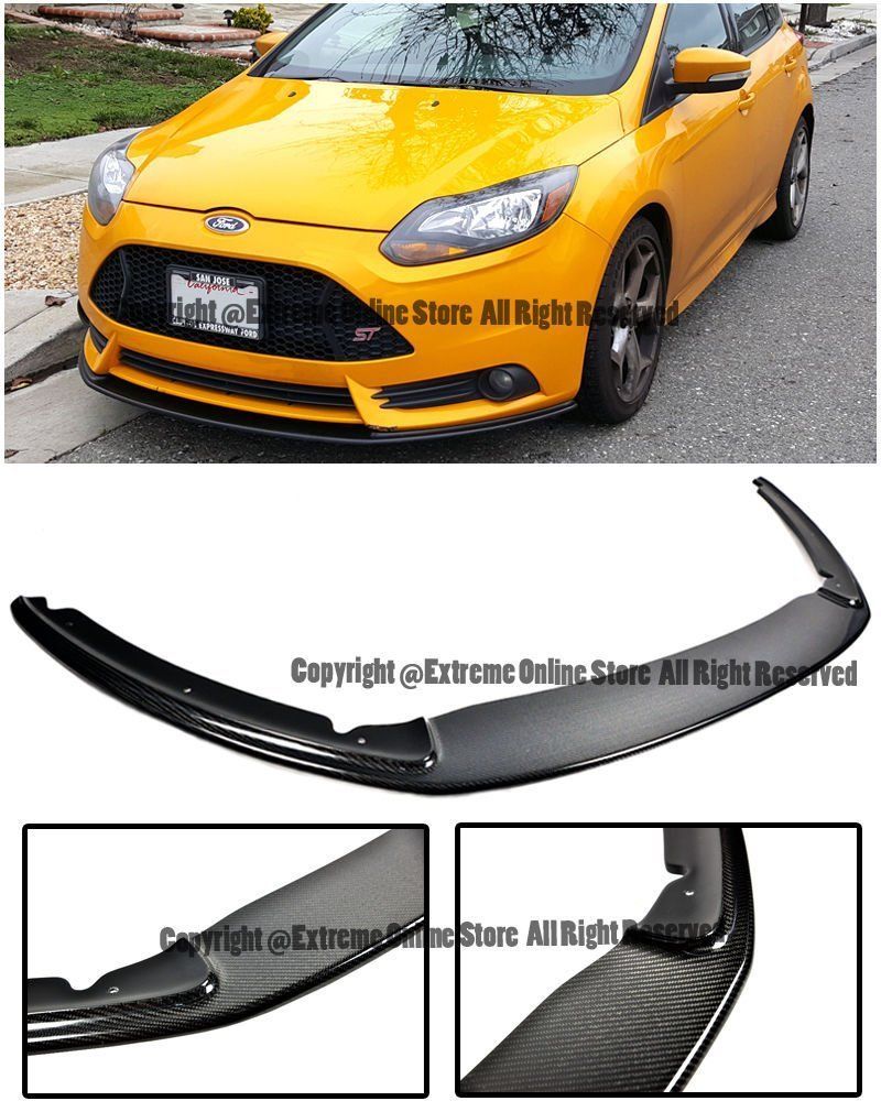Amazon Com For 12 14 Ford Focus St Mk3 Front Bumper Add On Bottom