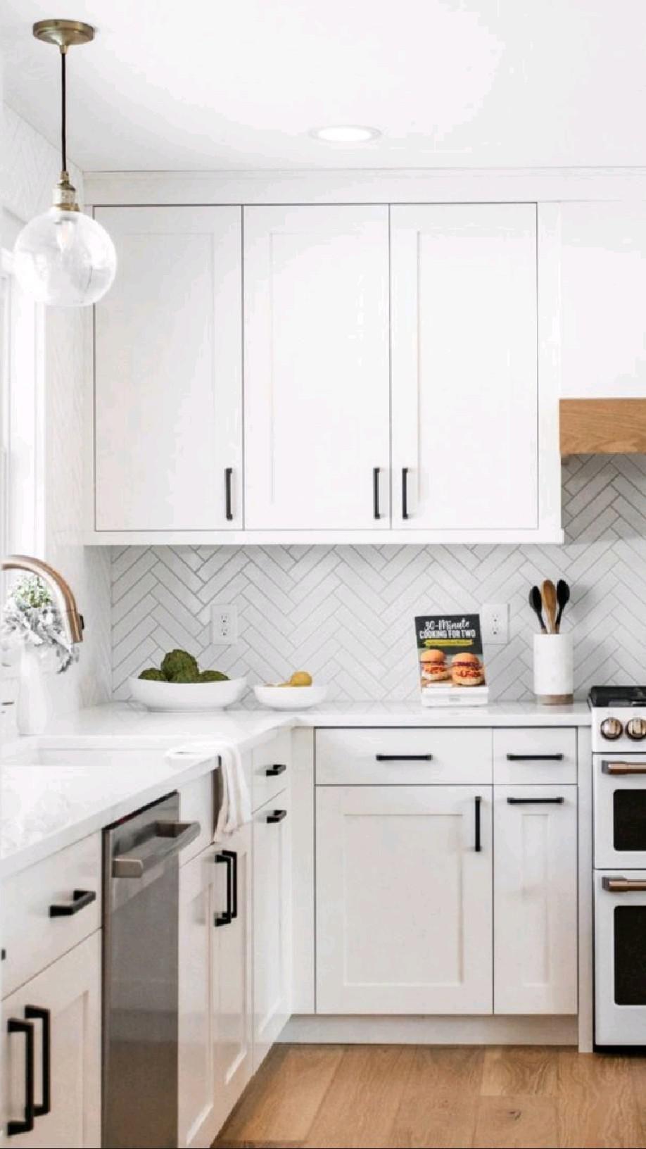 White kitchen ideas   kitchendesign  kitchenstyle  interiordesign