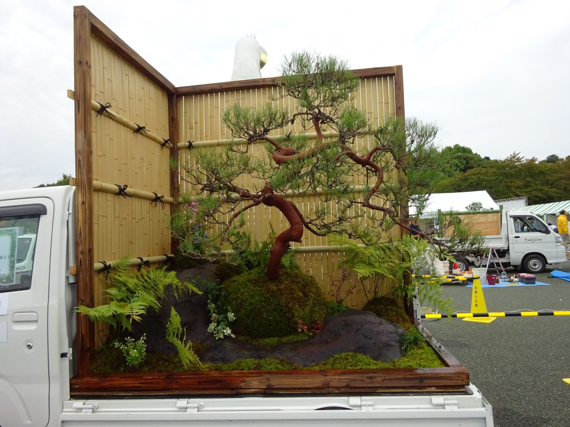 The Japanese Mini Truck Garden Contest Is A Whole New
