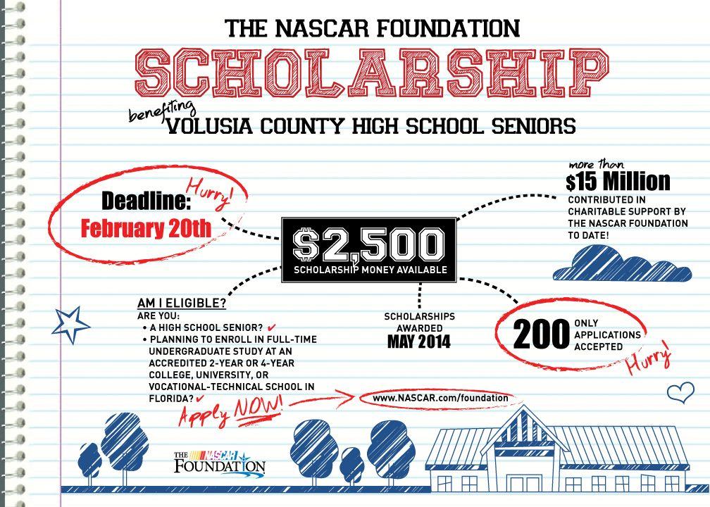 The NASCAR Foundation Scholarship Program for Students in