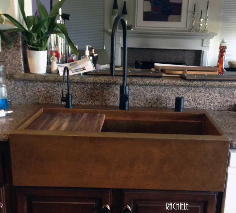 Drop in, top mount custom copper sinks made in the USA | Copper ...
