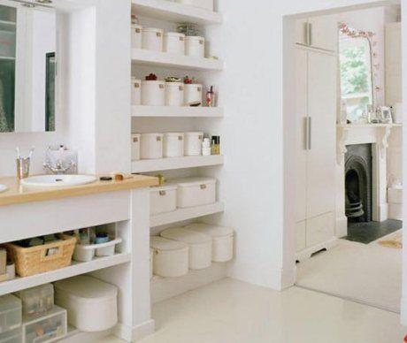 Cajas y cestas para el baño