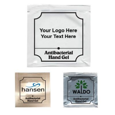 Promotional Logo Anti Bac Gel Packets Hand Sanitizer Promotion