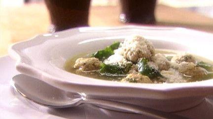 soupe italienne aux petites boulettes de viande recettes la di stasio cuisine italienne. Black Bedroom Furniture Sets. Home Design Ideas