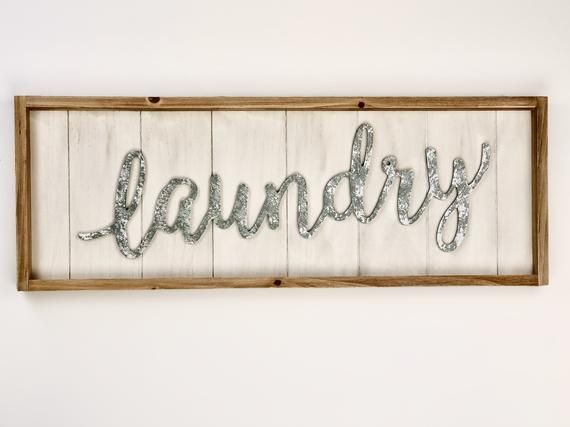 Laundry Signs, Wood Laundry Sign,Laundry Signs for Laundry Room,Laundry Signs Wall Decor,Farmhouse S