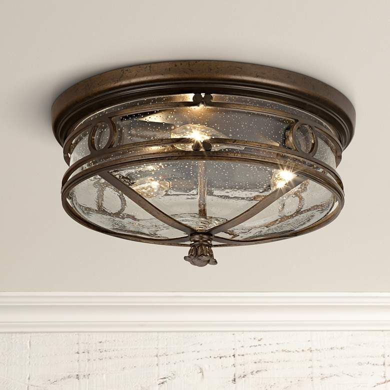 Beverly Drive 14 Wide Indoor Outdoor Ceiling Light 69995 Lamps Plus Outdoor Ceiling Lights Ceiling Lights Flush Mount Ceiling Lights