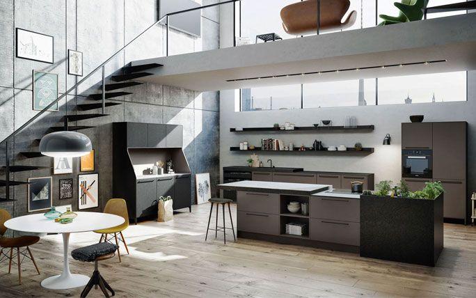 Kochinsel Mit Krautergarten Kitchen In 2019 Kuche Kuchen Design