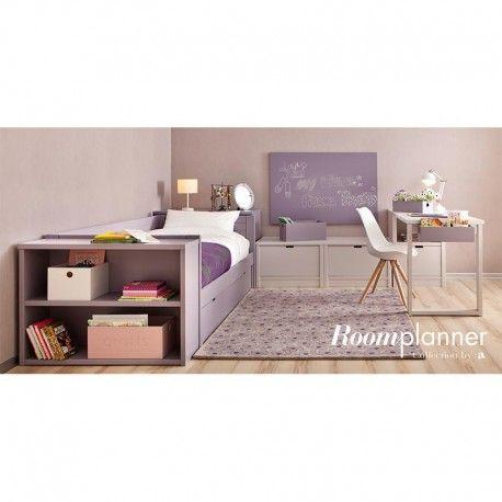 Lit banquette enfant avec tiroir lit Cometa 200 cm - Asoral