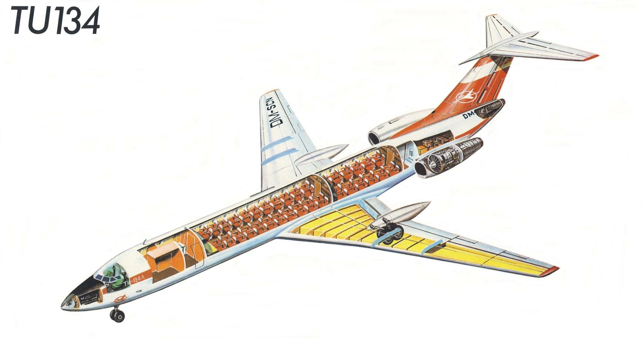 Cutaway of a pan am boeing 377 stratocruiser image from chris sloan - Ilyushin Il62 1 Airliner Cutaways Pinterest Ilyushin Il 62 Cutaway And Aircraft