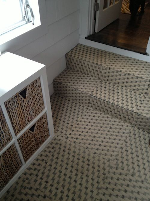 Neat Mudroom Carpet Via Elements Of Style