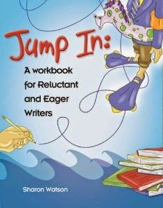 """""""We are VERY satisfied and excited about Jump In curriculum! We are taking a break, but this will be our Writing Curriculum for the fall and going forward!! I must say I also learned a few things myself about writing through this program!""""  #homeschool #hsreviews"""